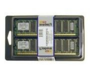 KINGSTON 1024MB 400MHz Non-ECC CL3 (Kit of 2x512MB)