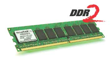 Kingston 1024MB DDR2 400MHz CL3