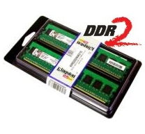 Kingston 4096MB DDR2 667MHz CL5 ECC (2x2GB)
