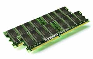 Kingston 4096MB DDR2 800MHz CL5 (2x2GB)