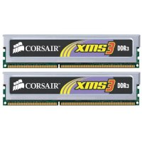 Corsair 2048MB DDR3 1333MHz CL9 Twin3X (2x1GB)