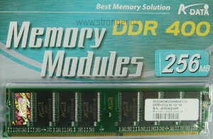 A-Data DIMM  512MB DDR 400MHz Retail