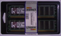 KINGSTON 4GB=2x2GB DDR2 CL5.0 PC6400 800MHz (kit 2ks 2048MB)