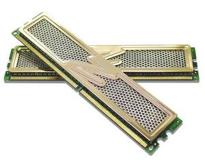 OCZ 2GB=2x1GB DDR2 PC6400 800MHz 4-5-5-15 (Gold Rev2 Gamer Extreme kit 2ks 1024MB s chladičem XTC)