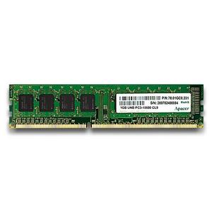 APACER 2GB DDR3 1333MHz PC3-10600 CL9-9-9 (2048MB)