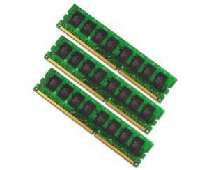 OCZ 6GB=3x2GB DDR3 1600MHz Value PC3-12800 8-8-8-24 (kit 3ks 2048MB, pro Core i7 Vdimm=1.65V a X58)