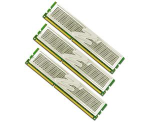 OCZ 12GB=6x2GB DDR3 1600MHz Platinum PC3-12800 7-7-7-24 (12GB, kit 6ks 2048MB s chladičem XTC pro Core i7 Vdimm=1.65V a X58)