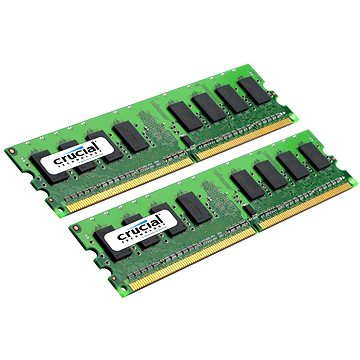 Crucial 2GB KIT DDR2 667MHz CL5 CT2KIT12864AA667