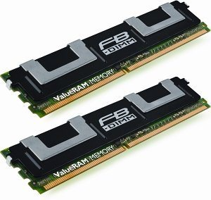 Kingston 2GB (2x1GB) 667MHz DDR2 ECC Fully Buffered CL5 (KVR667D2S8F5K2/2G)