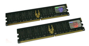GEIL RAM 2GB(2x1GB) PC2 5300 667Mhz Black Dragon (4-4-4-12)