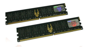 GEIL RAM 2GB(2x1GB) PC2 6400 800Mhz Black Dragon (5-5-5-15)