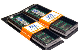 GOODRAM RAM 2GB KIT (2x1GB)DDR2 240pin PC4300 533MHz