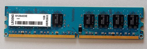 LEGEND Samsung DDR2 1GB, 533MHz, Non ECC, CL4