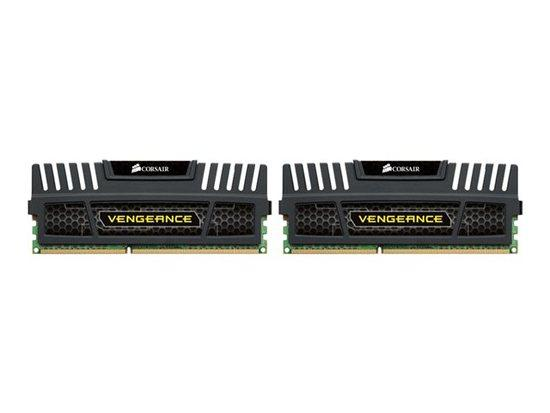 Corsair Vengeance Black 8GB DDR3 1600Mhz CL8 (CMZ8GX3M2A1600C8)